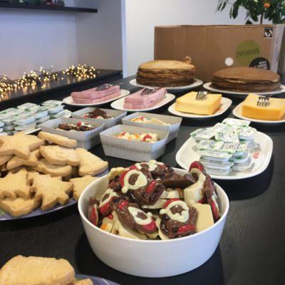 corporate event santa claus